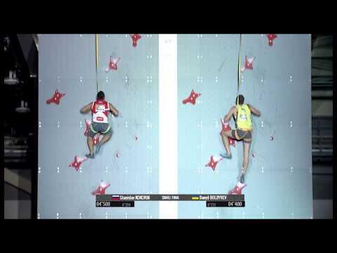 Станислав Кокорин выиграл бронзу чемпионата мира по скалолазанию в дисциплине «скорость» в Японии