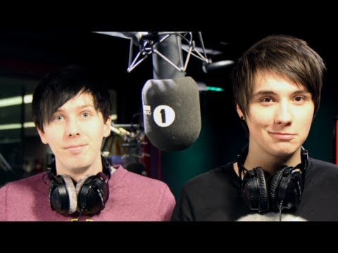 radio show - The worlds of YouTube and Radio 1 collided beautifully on the all-new Request Show with Dan and Phil. Featuring AWOLNATION, Fan Wars, Internet News and so ve...