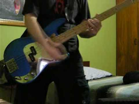 Iron Maiden – Alexander The Great Bass Cover