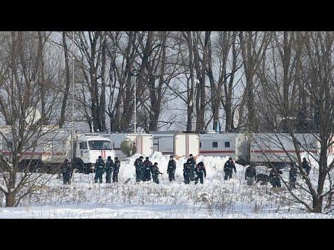 Ρωσία: Θρήνος και ερωτηματικά για την αεροπορική τραγωδία