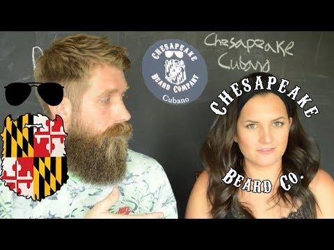 Beard oil - Chesapeake Beard Co Cubano Oil & Balm review w/ wife!