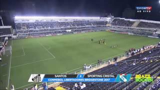 Santos 4 x 0 Sporting Cristal Melhores Momentos