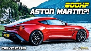 800HP Aston Martin Vanquish, Mercedes-AMG GT R Gets 577-HP, New Nissan Leaf - Fast Lane Daily by Fast Lane Daily