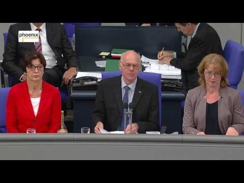 Bundestag beschließt Ehe für alle - Bundestagspräsident ...