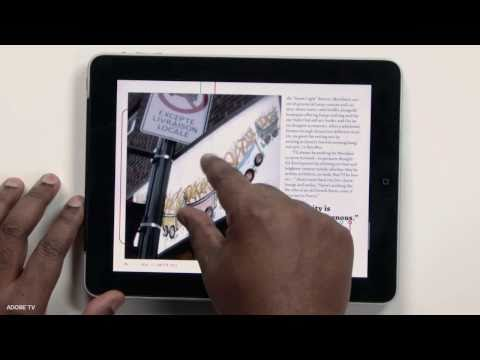 Digital Publishing Suite - In this episode I'll show you a few of the new features of Adobe InDesign CS 5.5 for publishing digital content to the iPad, Motorola Xoom and Blackberry Pla...