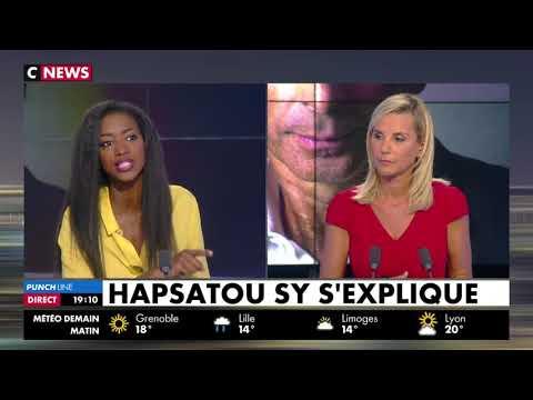 """""""Je ne lâcherai pas"""" : Hapsatou Sy réclame des excuses à Eric Zemmour"""