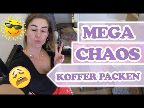 Koffer packen für den Urlaub 🌞Follow me Around Saskiasbeautyblog (видео)