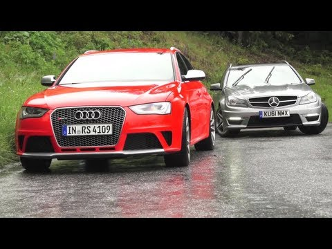 New Audi RS4, Old Audi RS4s