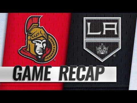 Tierney scores twice in Senators' 4-1 win