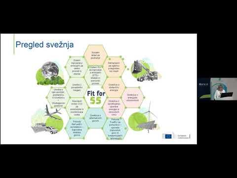 Tina Vončina, Predstavništvo Evropske komisije v Sloveniji - Uresničevanje evropskega zelenega dogovora in »Pripravljeni na 55«