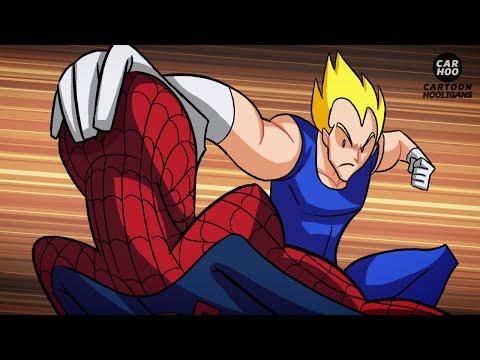Dragon Ball Z VS Marvel Superheroes - What If Battle [ DBZ Parody ] (видео)