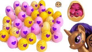 Video Twins Hatchimals Egg Surprise ! Blind Bag Animals At Shopkins Small Mart MP3, 3GP, MP4, WEBM, AVI, FLV Mei 2019