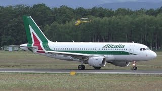 This weekend the Formula One race is at Spielberg, Styria so we have a lot of charter flights bringing the teams and fans to Graz. Alitalia AZ 9002 Bologna A...