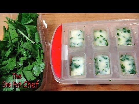 Quick Tips: Freezing Fresh Herbs