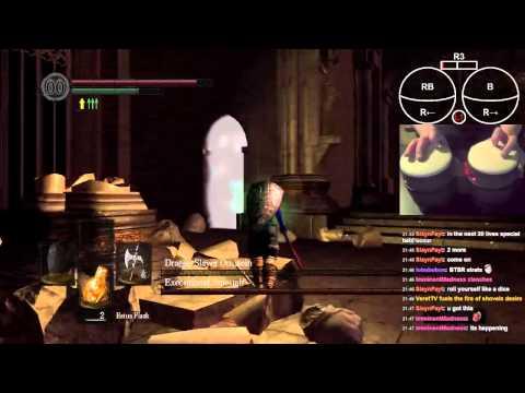Dark Souls'u davulla oynamak