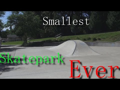 Smallest Skatepark Ever (Possibly the Worst)