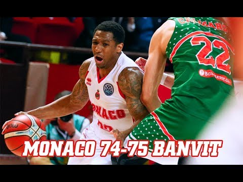 BCL — Monaco 74 - 75 Banvit — Highlights