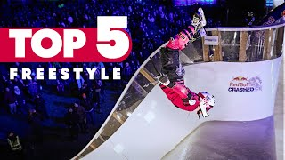 Top 5 Freestyle Tricks of Red Bull Crashed Ice 2017