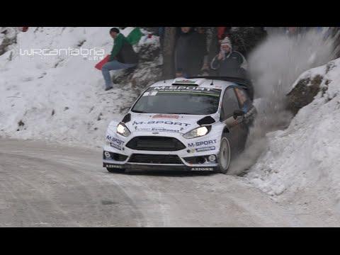 WRC Rallye de Montecarlo 2015 | Snowbanks, Mistakes and Maximum attack | HD 1080 50fps