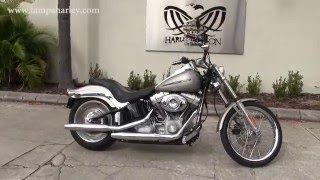 1. Used 2007 Harley Davidson FXST Softail Standard