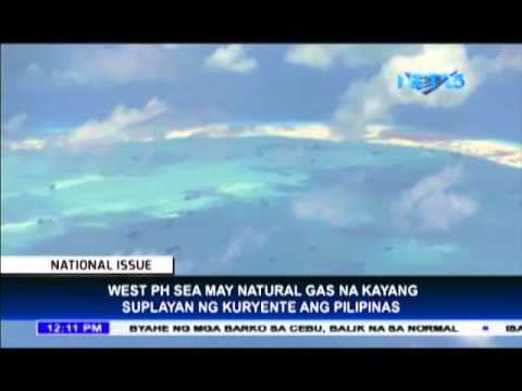 West Philippine Sea, rich in natural gas