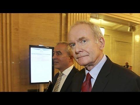 Δεν θα είναι επικεφαλής του Σιν Φέιν ο Μάρτιν Μαγκίνες στις εκλογές