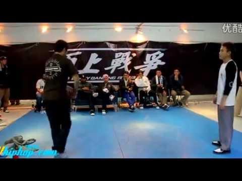 Popping Finals//Sharbome(5+5 Crew,China) VS Susoopop(Korea) Popping John,Boogie frantick JUDGE