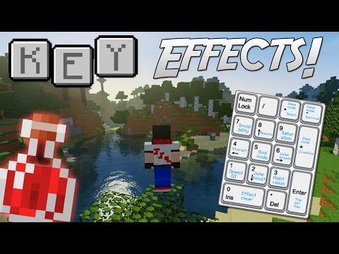 Key Effects [Epic Key Bindings!] | Minecraft Mod Showcase!