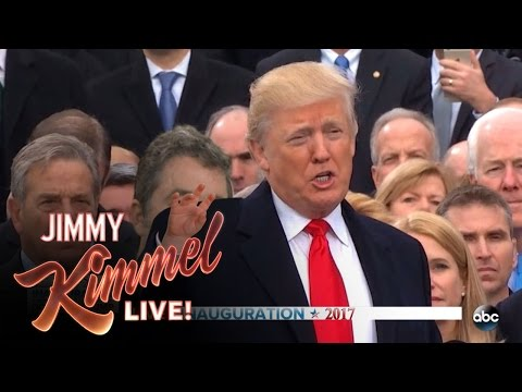 Jimmy Kimmel on Donald Trump's Inauguration (видео)