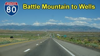 Wells (NV) United States  city photo : 2K16 (EP 8) Interstate 80 East from Battle Mountain to Wells, Nevada