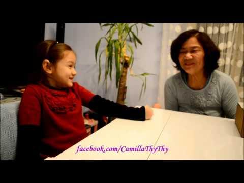 Camilla ThyThy nói giọng Huế với bà ngoại (11.2013)