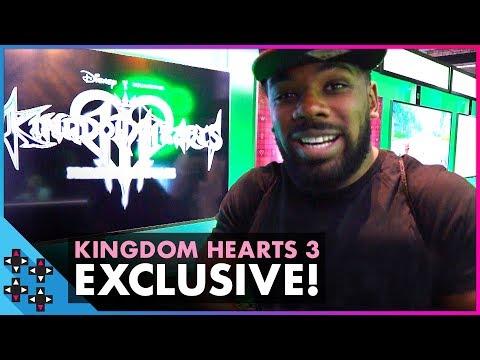 KINGDOM HEARTS III: Austin Creed dives into the fantasy world of Disney! - UUDD Vlogs