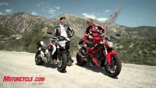 8. 2013 MV Agusta Brutale 800 vs Ducati 848 Streetfigher