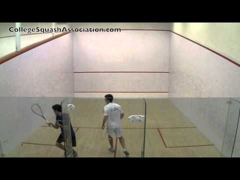 Men's College Squash: 2011 Wesleyan Round Robin – Colby and Conn #1s