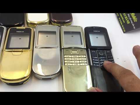 Vỏ Điện Thoại Nokia 8800 Arte , Anakin , Siroco Gold , Nâu , Đen , CacBon Giá Rẻ Tại Hà Nội