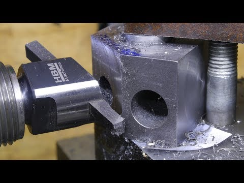 I Finally Do Some Fly Cutting.  Making A Lathe Tool Holder Part 2