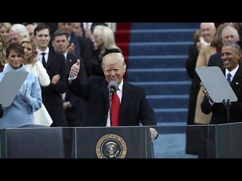 Ορκίστηκε 45ος πρόεδρος των ΗΠΑ ο Ντόναλντ Τραμπ