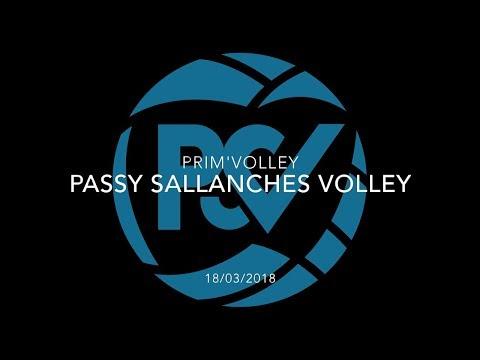 PASSY SALLANCHES VOLLEY | PRIM'VOLLEY (18/03/2018)