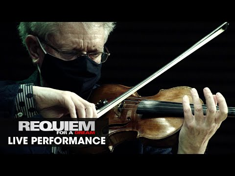 "Requiem For A Dream (2000 Movie) Score ""Lux Aeterna"" - Kronos Quartet Social Distance Performance"