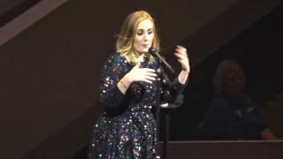 Adele - Water Under the Bridge - Live From Boston 09-14-2016