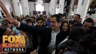 Juan Guaidó: President Trump's help has been 'instrumental'