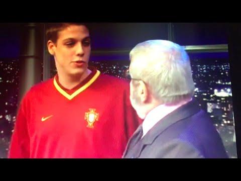 Porchat estreia-se no programa do Jô Soares em 2002