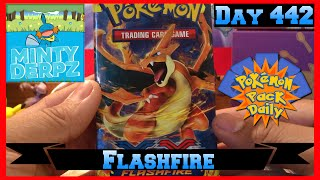 Pokemon Pack Daily Flashfire Booster Opening Day 442 - Featuring MiNTYDERPZ by ThePokeCapital