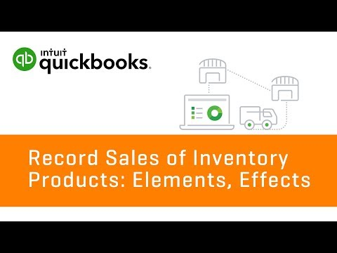 How to Record Sales of Inventory Products   QuickBooks Online Tutorial 2018