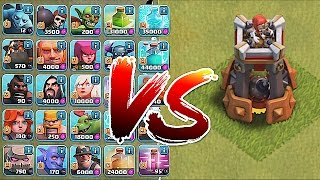 Video Clash Of Clans - BOMB TOWER!! Vs. ALL TROOPS!! (New Defense update) MP3, 3GP, MP4, WEBM, AVI, FLV Oktober 2017