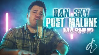 Video Post Malone Mashup // Dan Sky (Rockstar, Congratulations, I Fall Apart) MP3, 3GP, MP4, WEBM, AVI, FLV Juli 2018