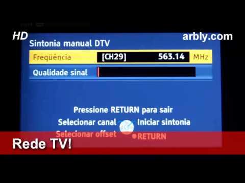 Simples Antena TV Digital UHF DTV
