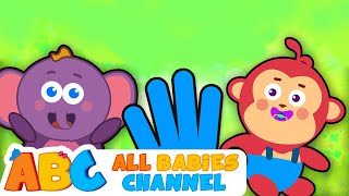 Finger Family Collection | Animal Finger Family | Nursery Rhymes | All Babies Channel