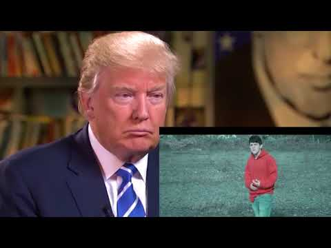 Trump reacts to 16 year old rapping about him