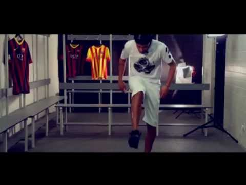 freestyle - Neymar Freestyle With Basketball And Orange And Chewing Gum 2014 HD.